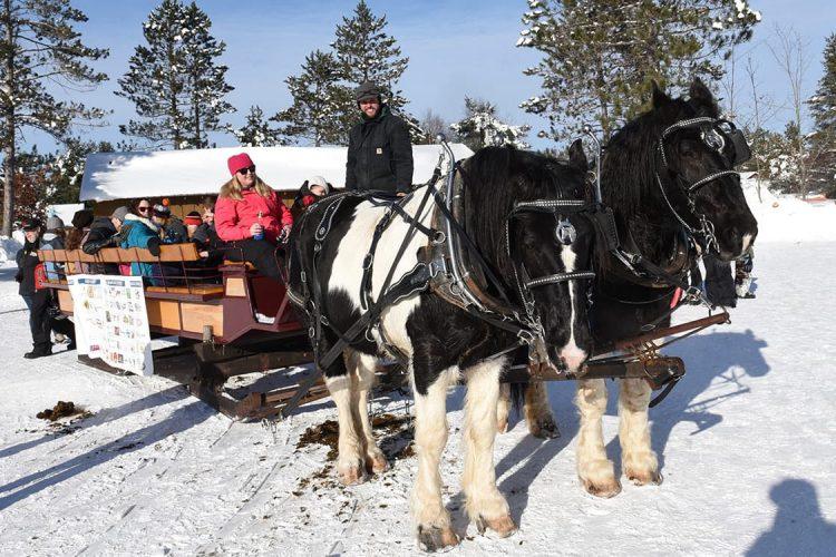 Winter events in Vilas County