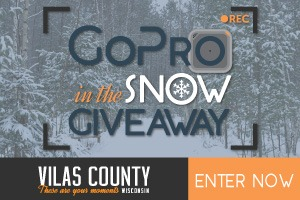 Vilas County GoPro in the Snow Giveaway