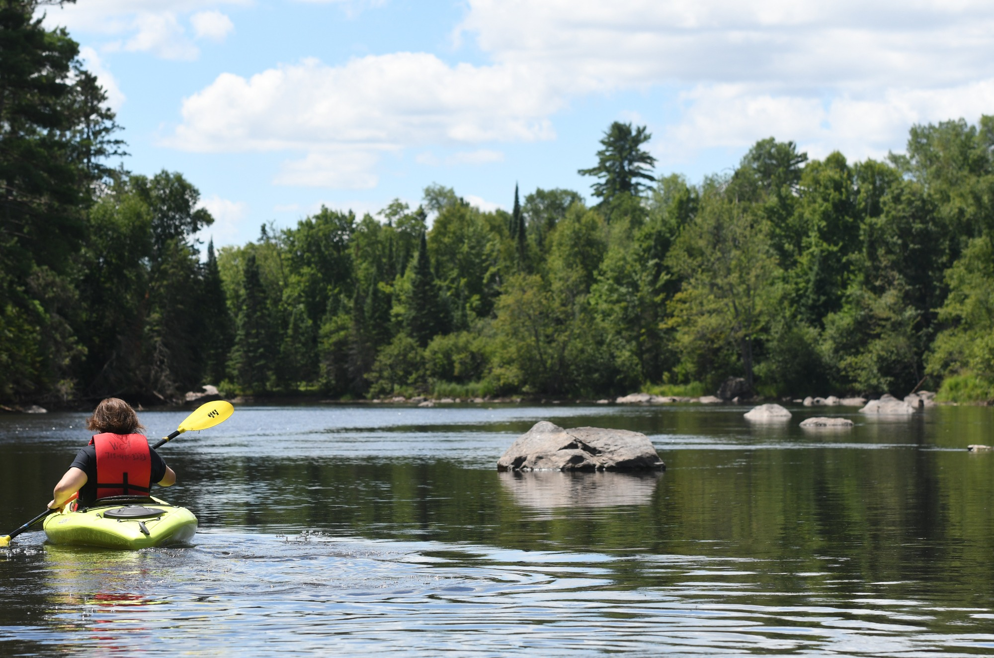 kayaking on the wisconsin river vilas county wisconsin