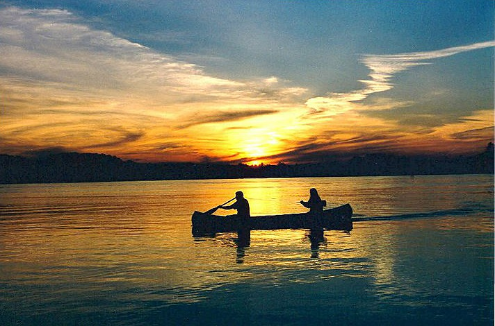 Sunset Over Star Lake