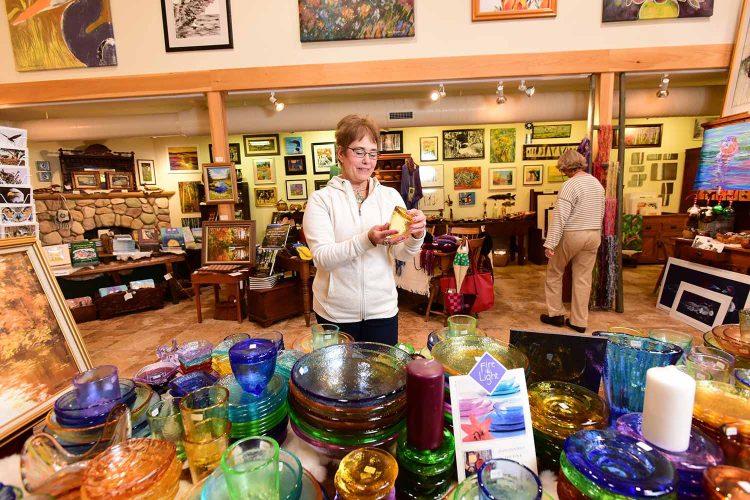 Moondeer And Friends Gallery In Boulder Junction.