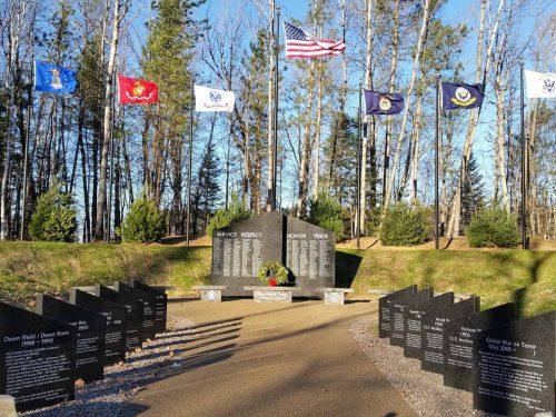 Wilderness Veterans Mem Flame