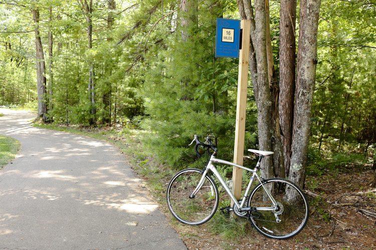 Biking The Heart Of Vilas Trail