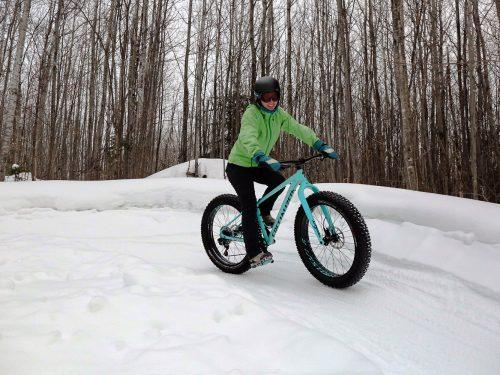 Fat Biking Winman Trail