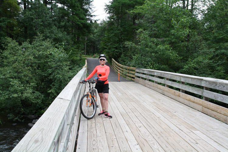 Heart of Vilas County Bike Trail in northern Wisconsin
