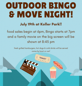 Lions Bingo And Movie Night