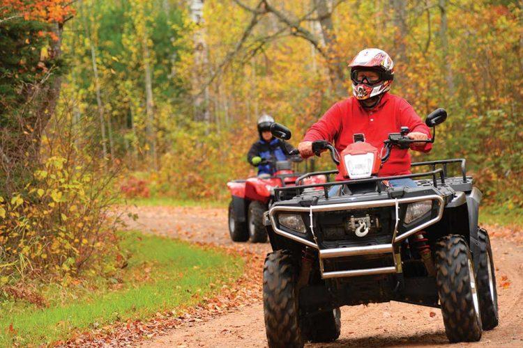 Fall ATVing